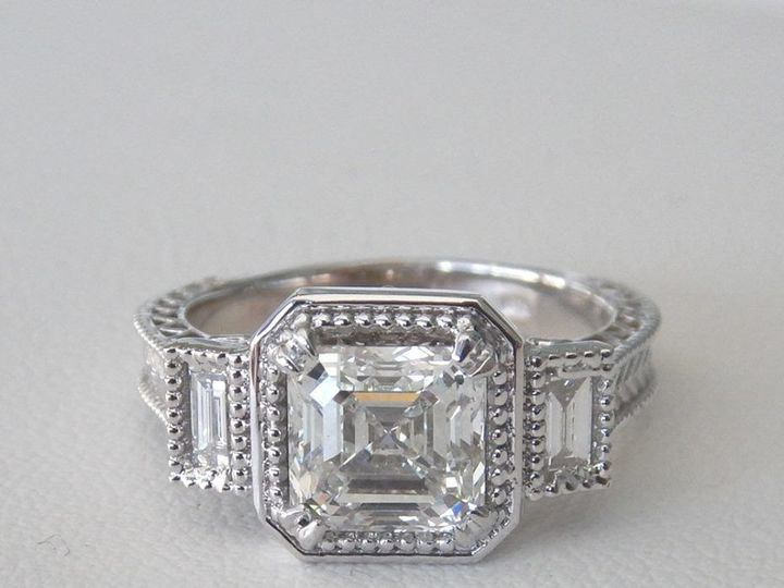 Tmx 1516813181 Ccdef09f9b465d1b 1516813180 68a366f951e96709 1516813180874 3 Custom Design Enga Milwaukee wedding jewelry