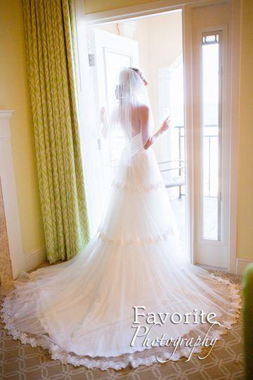 Natural Light Bridal Photo