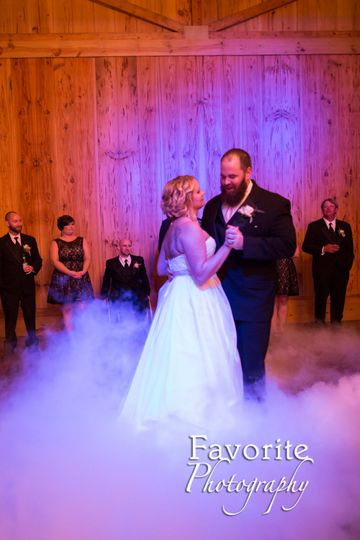 First Dance at Bowing Oaks