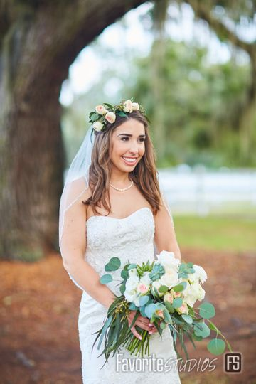 Bride: Plantation Oaks Farm