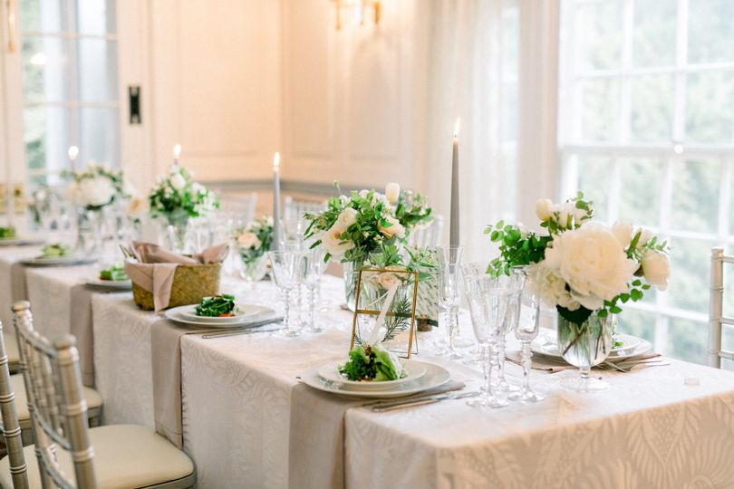 Reception at Glenview Mansion