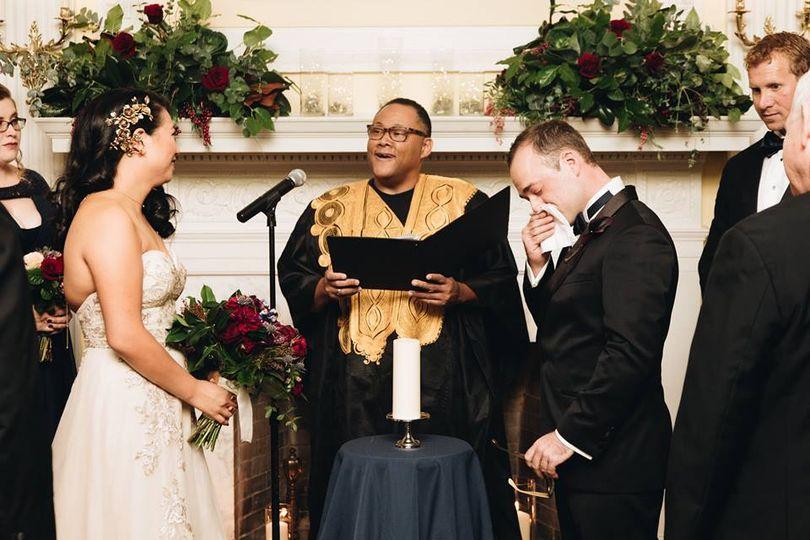 Ceremony at Josephine Butler