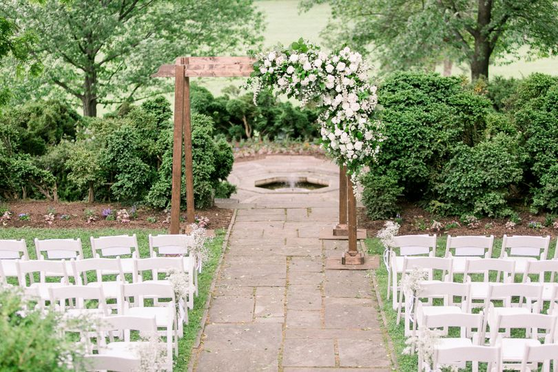 Ceremony at Glenview Mansion