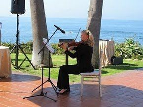 Playing at the Montage in Laguna Beach for the Women Writers Salon
