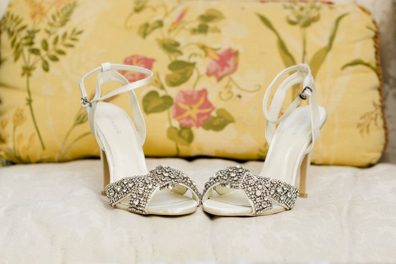 Dazzling shoes