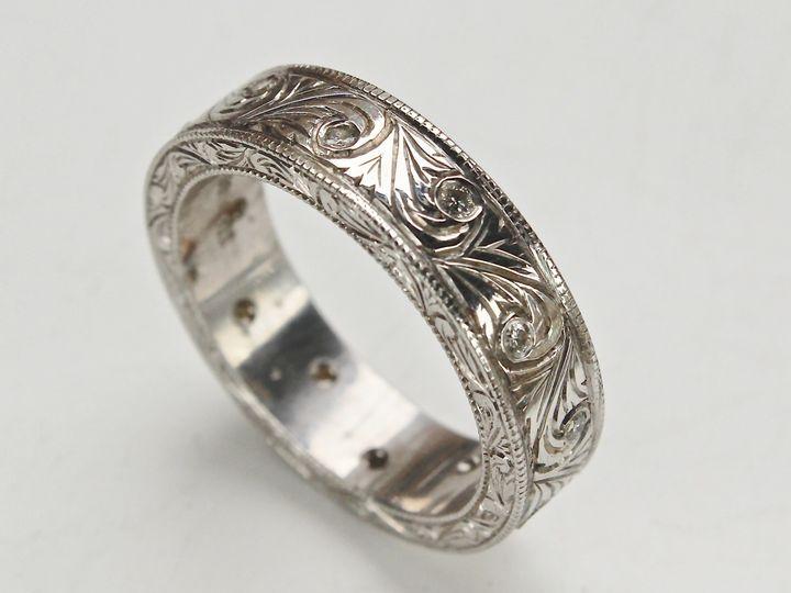 Tmx 1446668853308 Hand Carved Mens Ring 3 Boston wedding jewelry