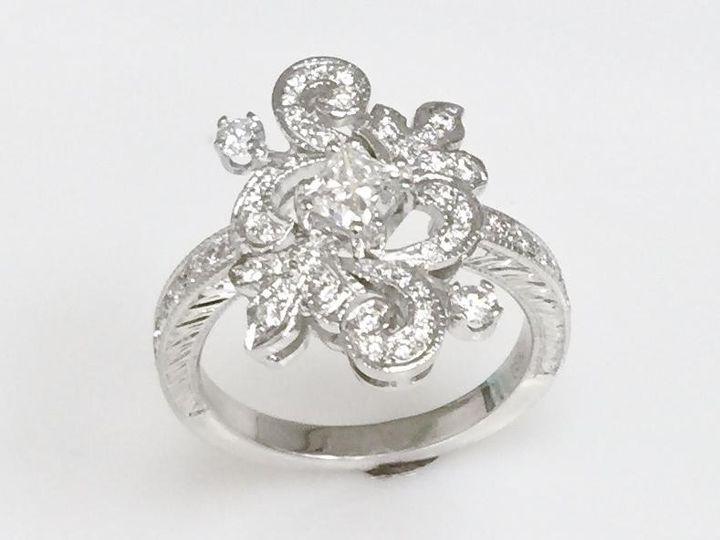 Tmx 1446668876308 Vintage Design Ring Boston wedding jewelry