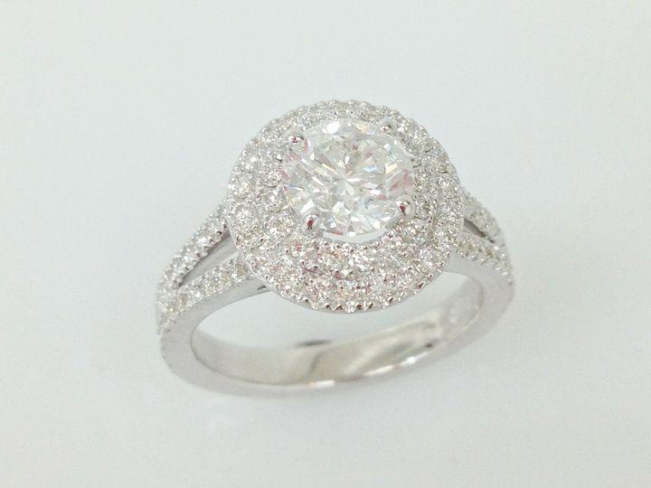 Tmx 1446673956236 Double Halo Engagement Ring Boston wedding jewelry