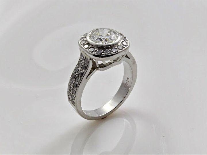 Tmx 1446674120471 Vintage Cushion Cut Engagement Ring Boston wedding jewelry