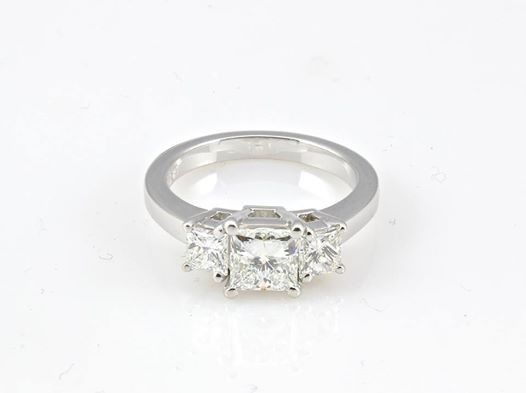 Tmx 1446674258908 Princess Cut Three Stone Ring Boston wedding jewelry