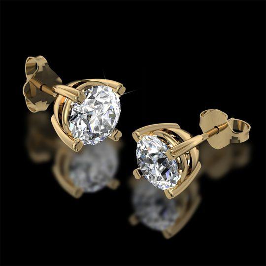 Diamond earring dtuds