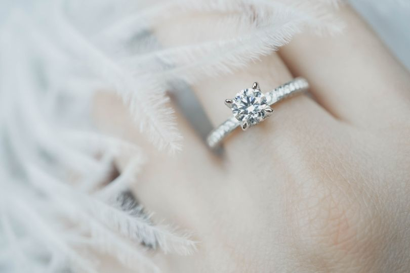 Solitrie engagement rings