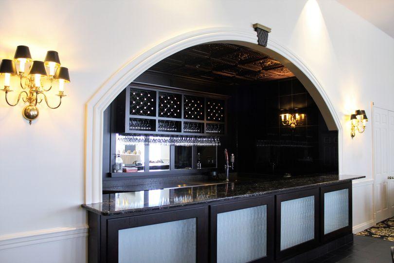 One of our custom granite bars