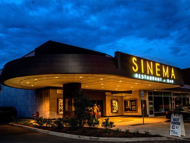Outlook of Sinema Restaurant and Bar