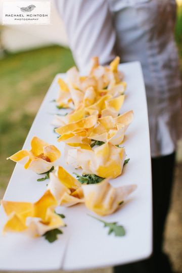 saffron catering by asheville wedding photographer