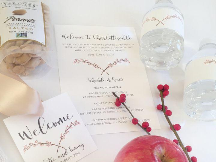 Tmx 1487460488490 Winterberrywelcomebox Contents2 Charlottesville wedding favor