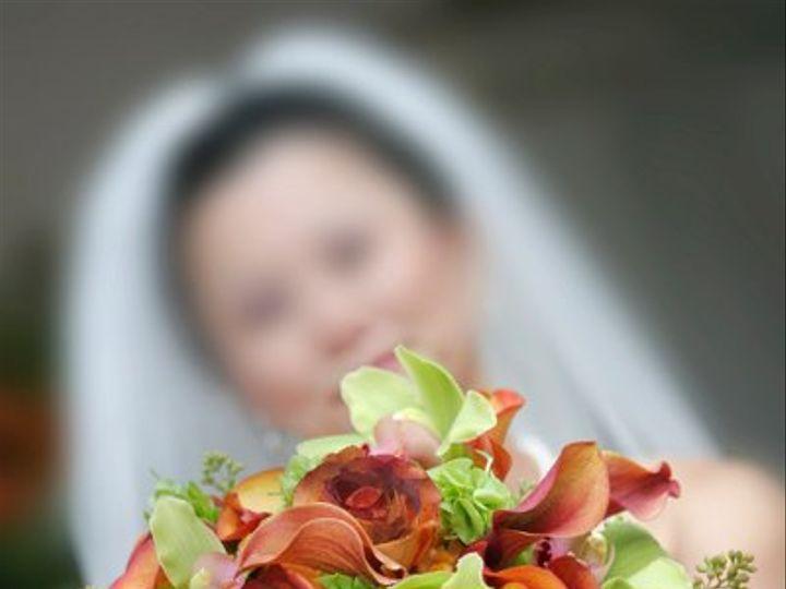 Tmx 1285967149208 Greenorangeorchidbouquet Chantilly, VA wedding florist