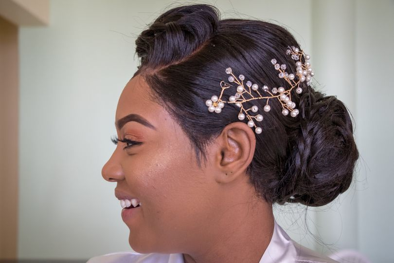 Bridal hair - CM Wedding Films & Photos