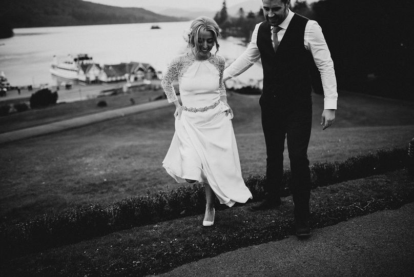 quirky wedding photographers scotland destination