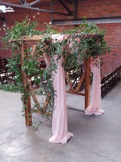 White pine arch