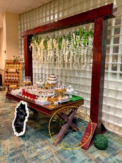 Pastries & Sweets Table