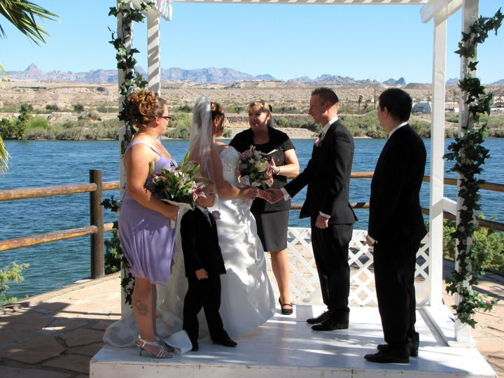 "Wedding at ""The Pointe"" overlooking the Colorado River"