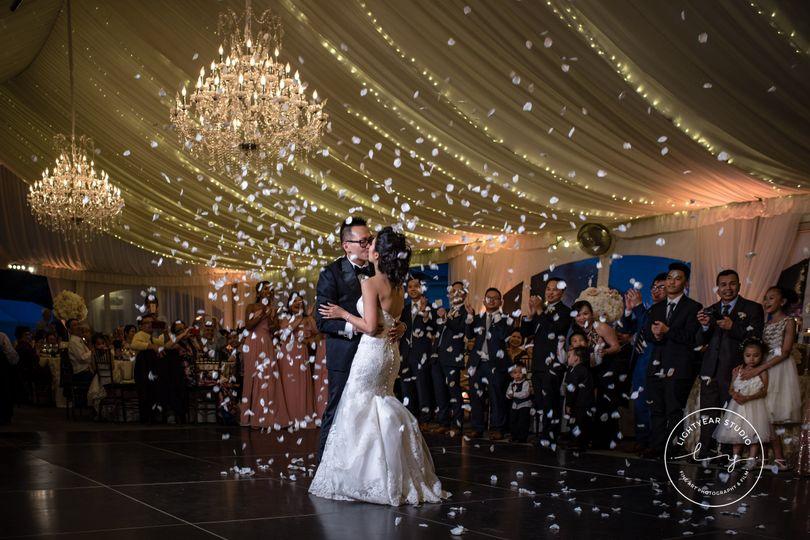 Couples Grand Entrance