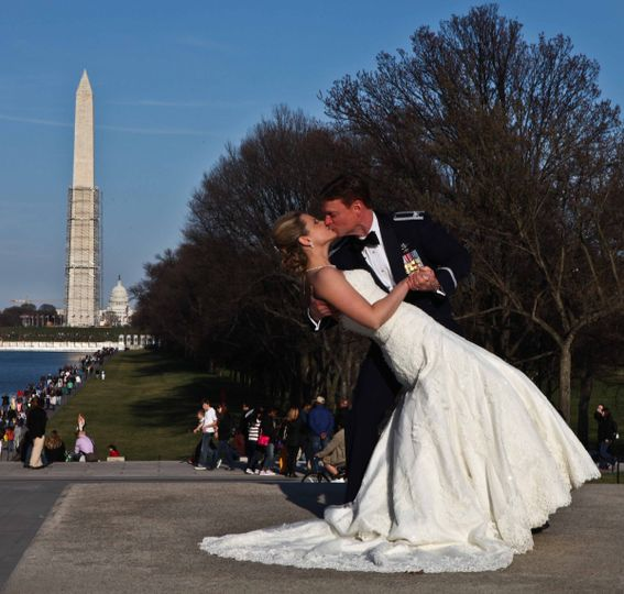 Lincoln Memorial Wedding photos from Capitol DC Photos