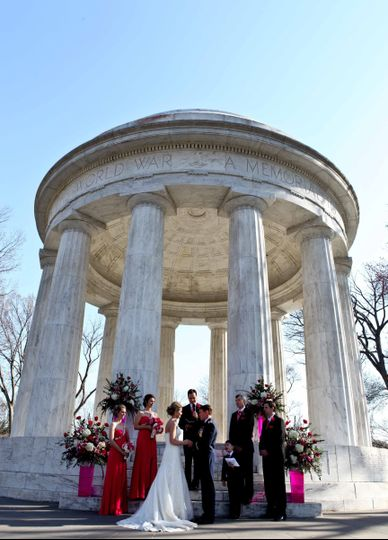 DC War Memorial wedding. We are proud to offer military discounts for our wedding packages to active...