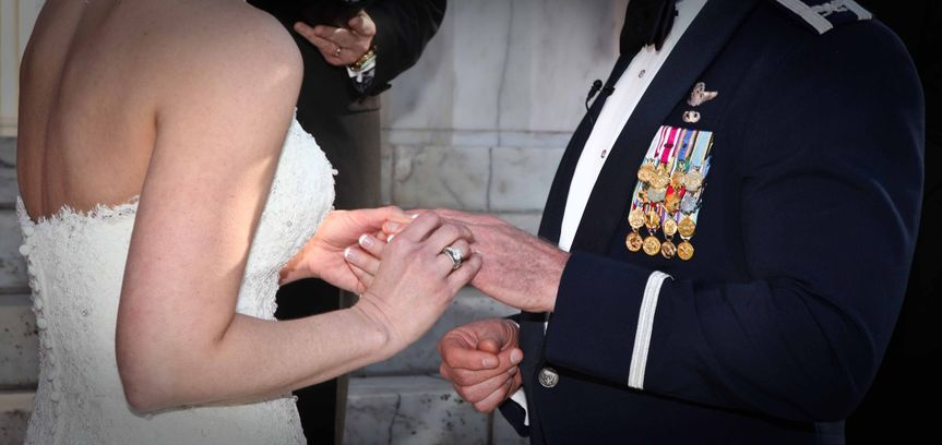 Planning your Military wedding? New York city Best Wedding Photographers.