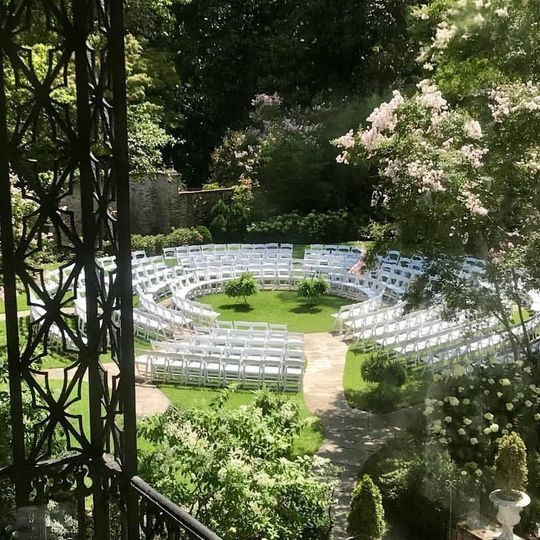 Ceremony Chair Set-up