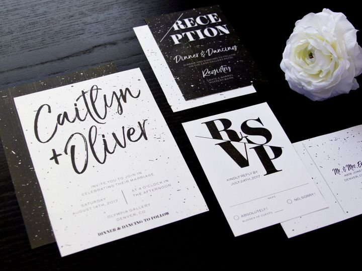 Tmx 1495482942165 Img8367 Denver wedding invitation