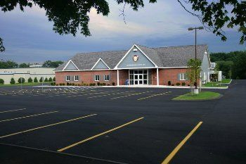 Exterior view of Chelmsford Elks Function Hall