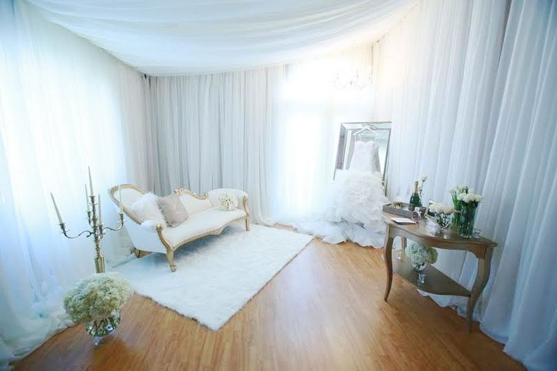 Bridal preparation room