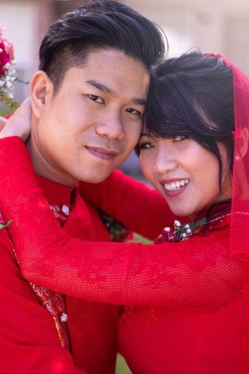 The happy couple Ryan Edwards Photography