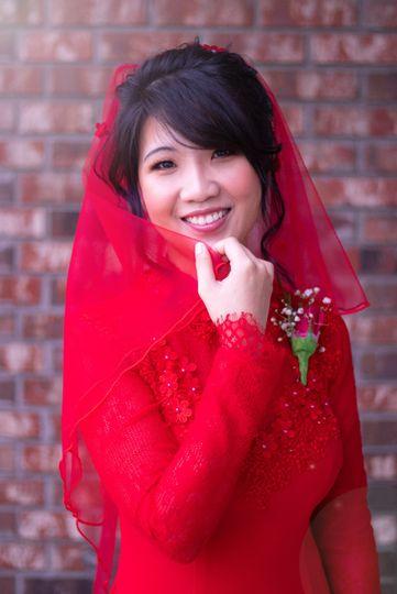 Red veil Ryan Edwards Photography