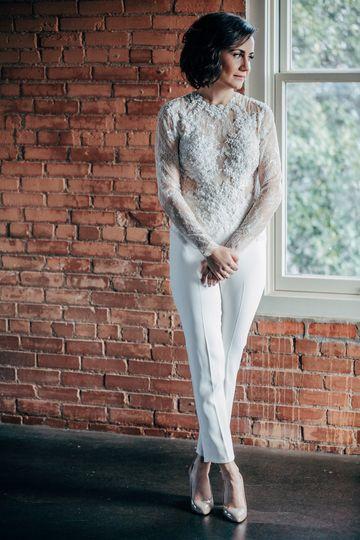 Custom jumpsuit for Lauren