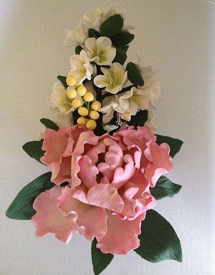 peony and blossom