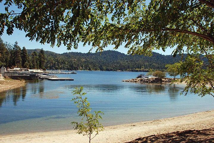 Enjoy a lakeside stroll