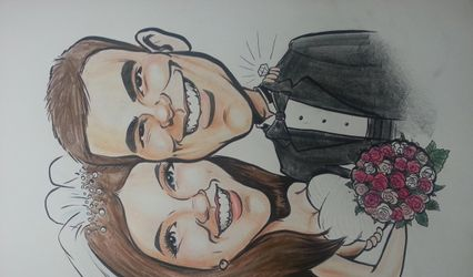 Caricatures by Tony Smith 1