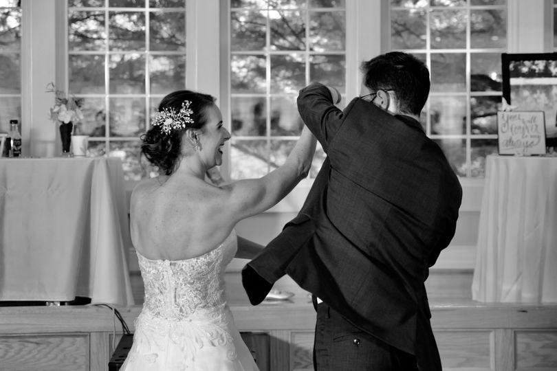 Natalie and Ben first dance