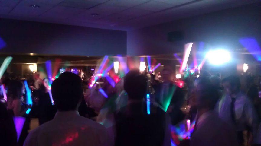 Glow wands energy
