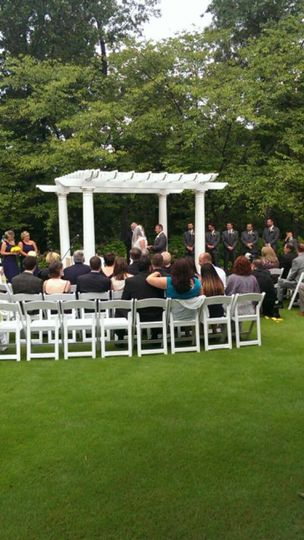 Nice Outdoor Ceremony
