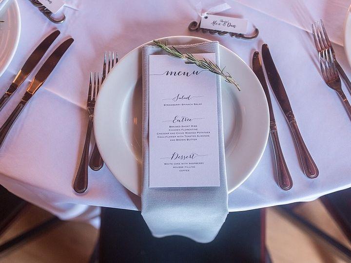 Tmx Menu 51 681559 158291955048523 Colgate, WI wedding invitation