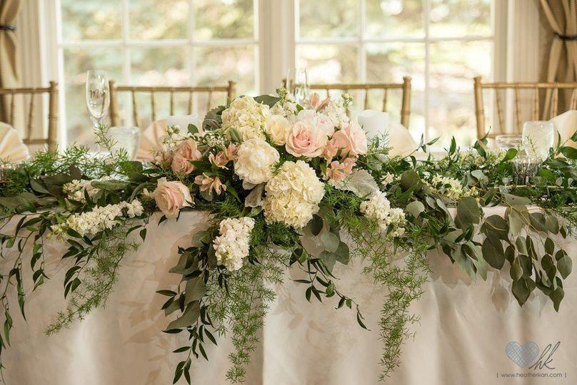 Flower arrangement sample