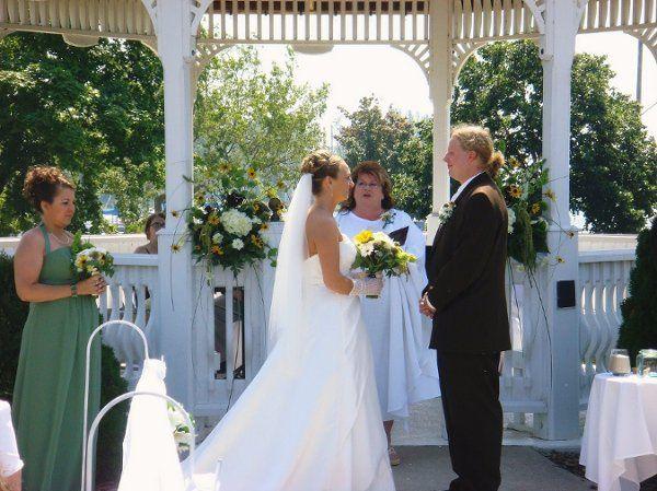 Mr. and Mr. C Larsen's wedding