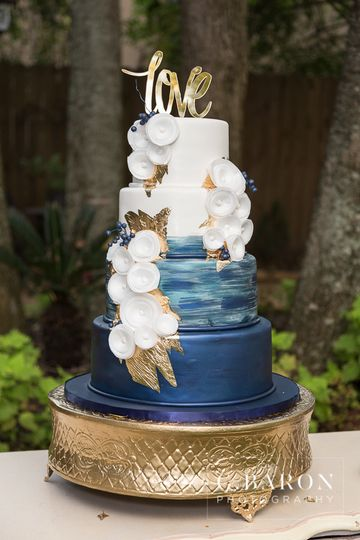 Cakes By Gina Blue Cake