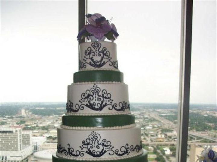 Tmx 1287698038723 3508210150212225870514281668075513138253382469331n Houston, TX wedding cake