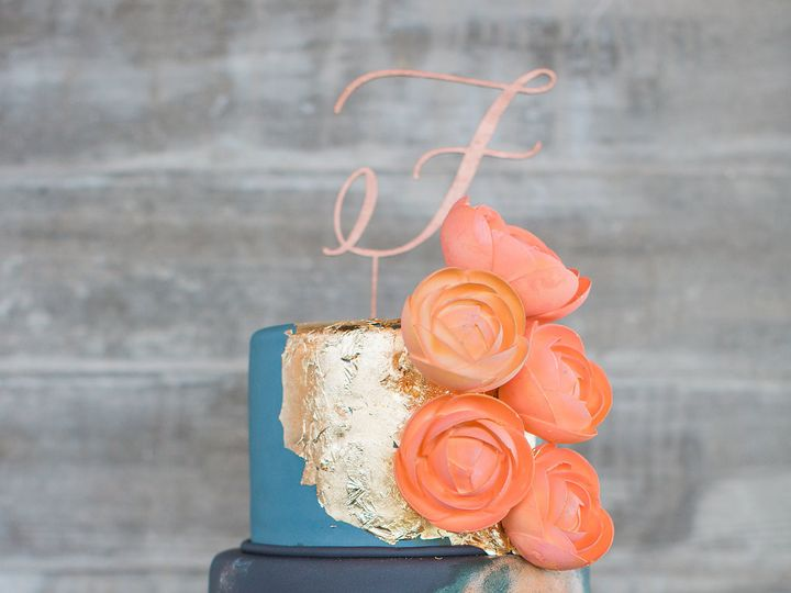 Tmx 1481135725653 Dunlavystyledshoot00425 Houston, TX wedding cake