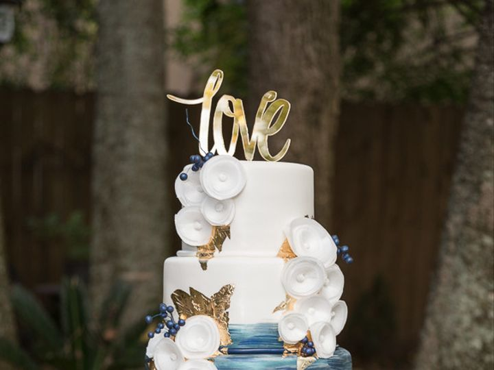 Tmx 1514386180266 Cbaronphotography Houston, TX wedding cake